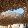 Public wooden installatition