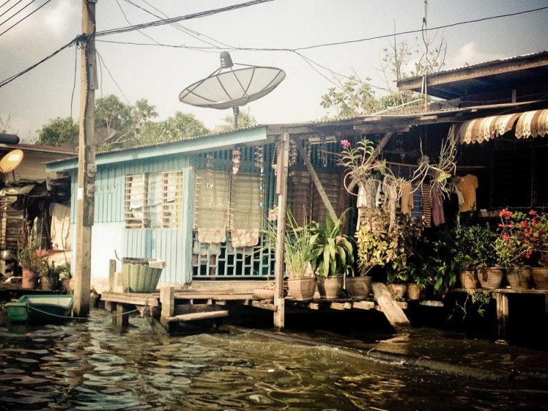 Stilt village inspiration