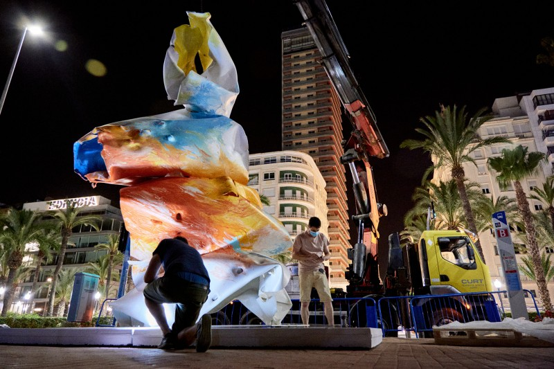 Sculptures exhibition travels from Valencia to Alicante